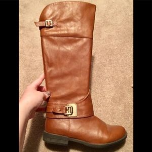 Bamboo Excellent condition chestnut brown boots
